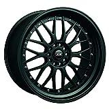 XXR WHEELS 521 Rim 18X8.5 5X114.3/5X120 Offset 25 Flat Black (Quantity of 1)