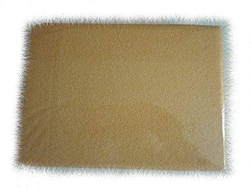 BlueberryShop badstof hoeslaken voor peuterbed/babybedje, 140 cm lengte x 70 cm breedte, abrikoos