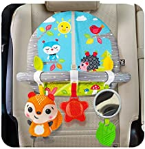 BENBAT Double Sided Car Seat Activity Arch - Baby Toy Activity Center - Toys for Children - Developmental Toys for Babies - Best Toddler Toys for The Car