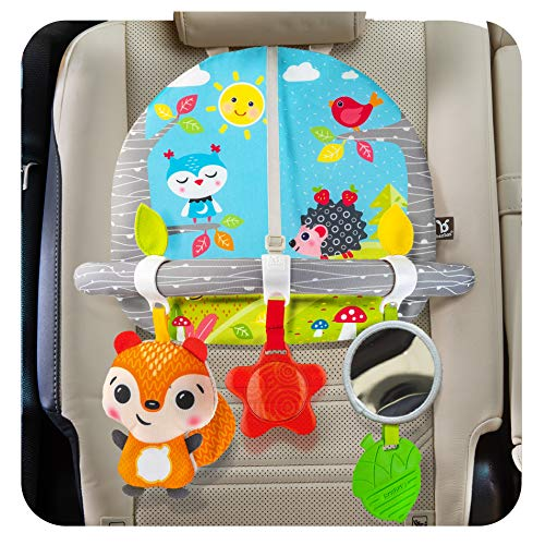 BENBAT Double Sided Car Seat Activity Arch - Baby Toy Activity Center - Toys for Children - Developmental Toys for Babies - Best Toddler Toys for The Car Arkansas