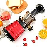 Juicer MachinesJuicer Blender, extractor de expresión de masticación lenta fácil de limpiar Motor silencioso Función inversa BPA Libre de la prensa de la prensa de frío con recetas de jugo de cepillo