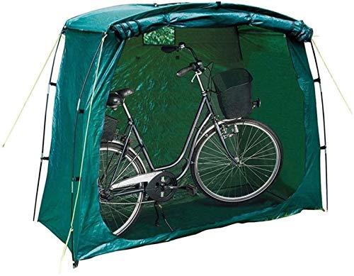 QIBIN Fahrrad Zelt Bike Storage Shed, Wasser- und staubdicht Fahrrad-Lagerzelt mit Fenstern for Außen Garten Mobil Garage 200X80x150cm