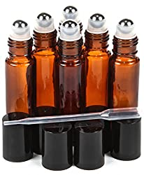 Essential Oils bottles with roller balls