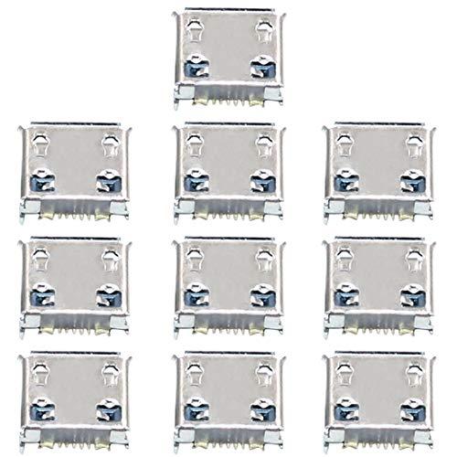 HUANGMENG Accesorios for Boutique Conector de Puerto de Carga de 10 PCS for Galaxy Nexus I9250 I9103 S5360 S5330 S3850 W999 I559