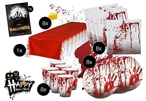 SSITG XXL Décoration pour Halloween avec de Nombreuses pièces