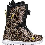 DC Search BOA Snowboard Boots Leopard Print 10 B (M)