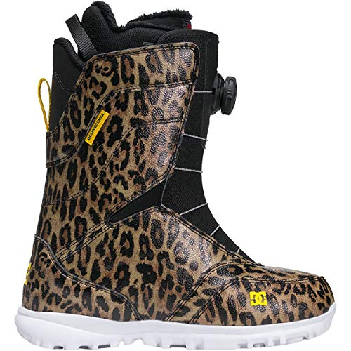 DC Search BOA Snowboard Boots Leopard Print 7 B (M)