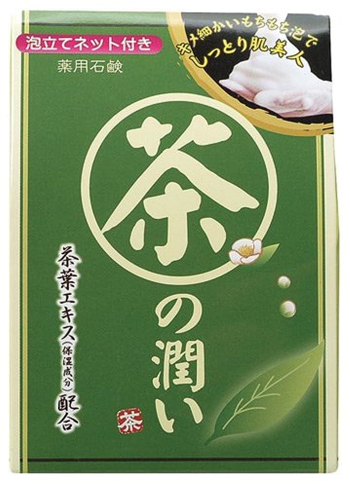 いつ素人疫病茶の潤い石鹸
