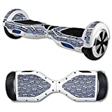 MightySkins Carbon Fiber Skin for Self Balancing Mini Scooter Hover Board - Tape 13 | Protective, Durable Textured Carbon Fiber Finish | Easy to Apply, Remove, and Change Styles | Made in The USA