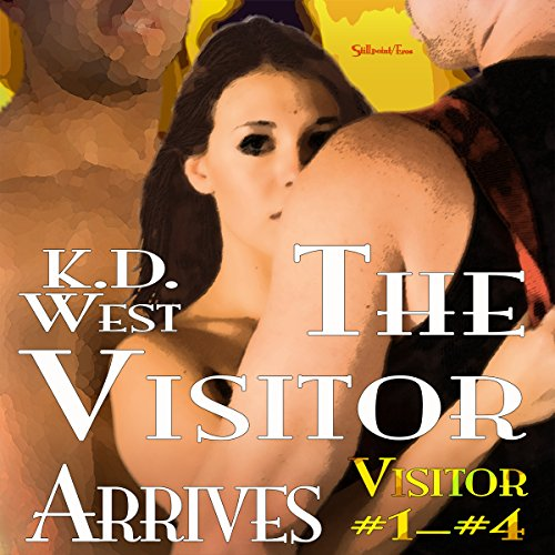 The Visitor Arrives  By  cover art