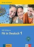 Mit erfolg fit in deutsch. Arbeitsbuch-Testbuch. Per la Scuola media: Mit erfolg zum fit in deutsch 1, libro de ejercicios + tests (ALL NIVEAU SCOLAIRE TVA 5,5%)