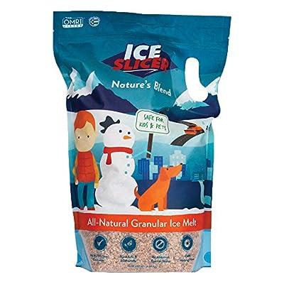 REDMOND Ice Slicer - Ice Melt Salt, Kid & Pet Safe Deicer, All-Natural Granular Ice Melt