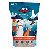 REDMOND Ice Slicer - Ice Melt Salt, Kid & Pet Safe Deicer, All-Natural Granular Ice Melt (10 LB)