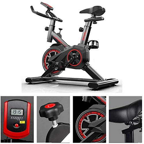 Thuis Rustig Spinning Bike, Gift hometrainer, stationaire fiets Weight Loss, Indoor fitnessapparatuur, Man Vrouw Aerobic oefening Workout