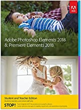 Adobe Photoshop Elements 2018& Premiere Elements 2018estudiantes y profesores