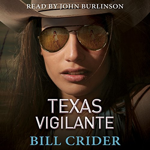 Texas Vigilante audiobook cover art