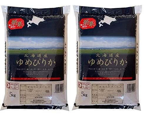 北海道産ゆめぴりか 10kg(5kg×2) 令和2年産 白米 お米
