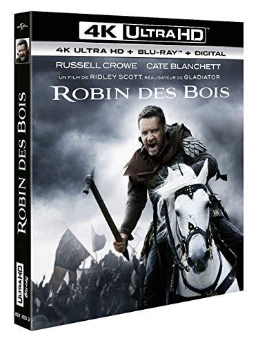 Robin des Bois [4K Ultra HD + Blu-Ray + Digital]