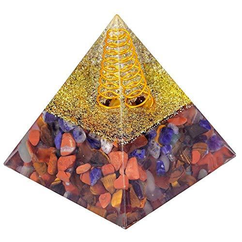 ZTTT Kristall-Edelstein-Steinpyramide