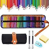 Lápices de colores,Lápices de Dibujo 72 colores diferentes acuarela,mejores lapices de colores,ideales para adultos,estudiantes o niños,suministros de arte para el colegio etc