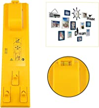 Moonvvin Multifunction Picture Frame Hanger Tools Level Ruler Bubble Level Measuring Tool Suitable for All Wall Materials Picture Frame