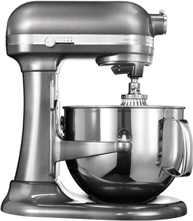 Robot da cucina con sollevamento ciotola artisan da 6,9 l iksm7580ms kitchenaid 5KSM7580X