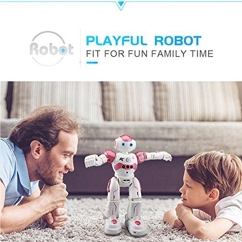 Goolsky Roboter Kinder Spielzeug HONGTUO HT9930-1 Intelligente Programmierung Geste Sensing Roboter RC Spielzeug Geschenk für Kinder