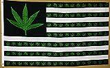 Weed USA Marihuana Flagge 3'x5' Cannabis Banner