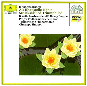 Brahms: Altrhapsodie / Schicksalslied / Triumphlied