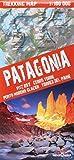 Patagonia 1 : 160 000: Patagonien. Fitz Roy, Cerro Torre, Perito Moreno Glacer, Torres del Paine. Trekking map