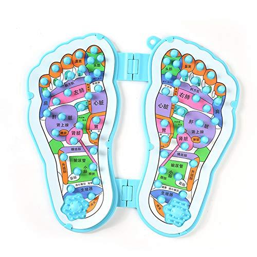 YB-DD Faltbare FußMassager, Massage Füße für Circulation-Boost-Muskel-Schmerz-Entlastung, Falten Tragbare Massage Fußmatte