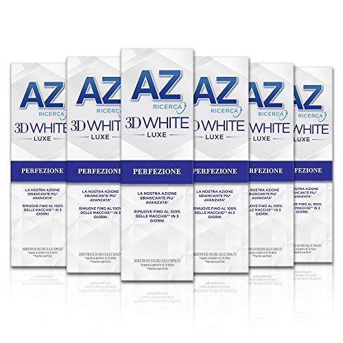 AZ Dentifricio 3D White Luxe 6 x 75ml