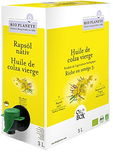 Olio di colza bio vergine 3 l - Horeca