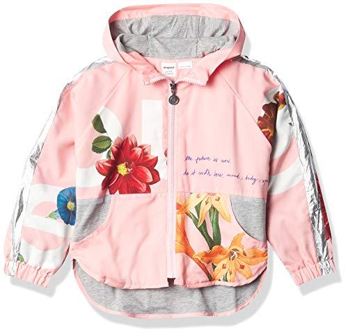 Desigual Girls CHAQ_MAISTERRA Jacket, Red, 9/10