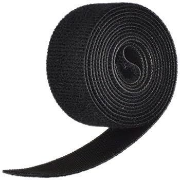 "VELCRO Brand ONE-WRAP Tape 1"" x 5' Roll Black"