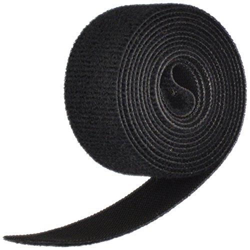 "VELCRO Brand ONE-WRAP Tape 1"" x 5' Roll, Black"