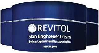 Revitol Skin brightener, Softer and Healthier Skin Treatment- 3 Pack