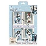 Santoro Gorjuss Set de sellos de goma coleccionables de Navidad, multicolor, talla única