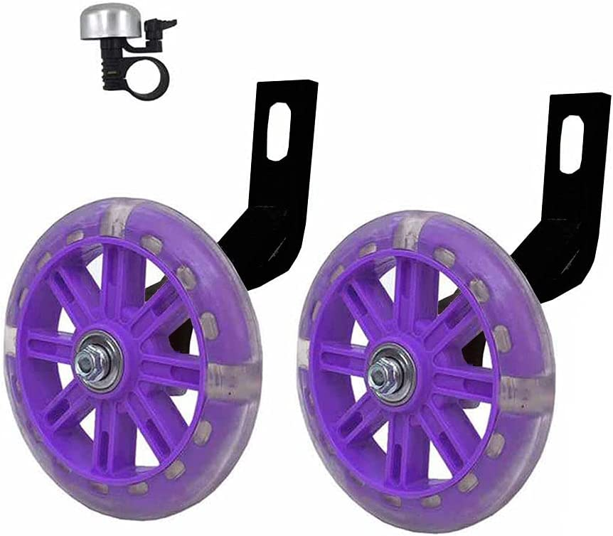 YTKD SALENEW very popular New item Training Wheels for Bicycle Flash Wheel Compatible Mute