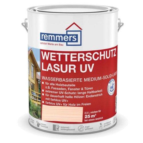 Remmers Wetterschutz-Lasur UV - weiß 5L