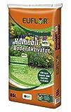 Euflor Humobil® Bodenaktivator AKTIVplus 65L Sack•hochwertiger Humus und ausgewogener Volldünger•zur Rasenpflege/Rasenreperatur•gegen Trockenheit und Nährstoffmangel