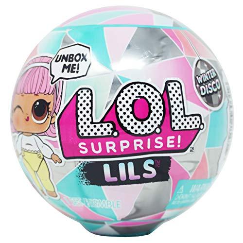 LOL Surprise Lils Winter Disco Serie, Muñeco, 5 sorpresas