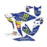 accessorypart YAMAHA R25 Sticker Set Mnstr Azul
