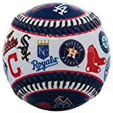 Franklin Sports 30 Club Baseball Teeball - Soft Strike - 30 Club Logo Ball (All...