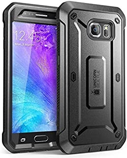 SUPCASE Unicorn Beetle PRO Series Designed for Galaxy S6 Case, with Built-in Screen..