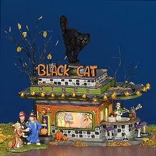 department 56 black cat diner