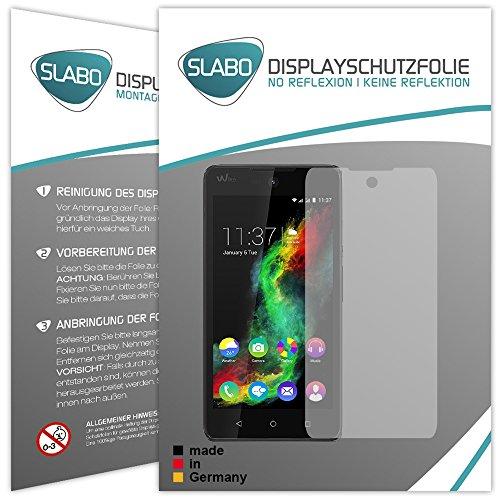 Slabo 4 x Bildschirmschutzfolie für Wiko Rainbow Lite Selfie Bildschirmfolie Schutzfolie Folie Zubehör No Reflexion MATT