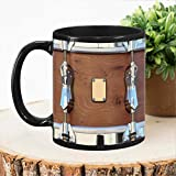 British Drum Mug, Drummer Gift, Drum Gift, Musician Gift, Music Gift, Funny Drummer Gift Funny Gift Mug birthday gift coffee cup for friends colleagues love mom dad