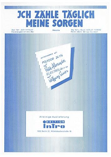 Ich zähle täglich meine Sorgen: as performed by Peter Alexander, Single Songbook