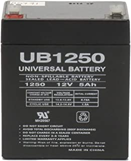 Universal Power Group 12V 5AH SLA Battery Replacement for Ion Audio Tailgater Portable PA System